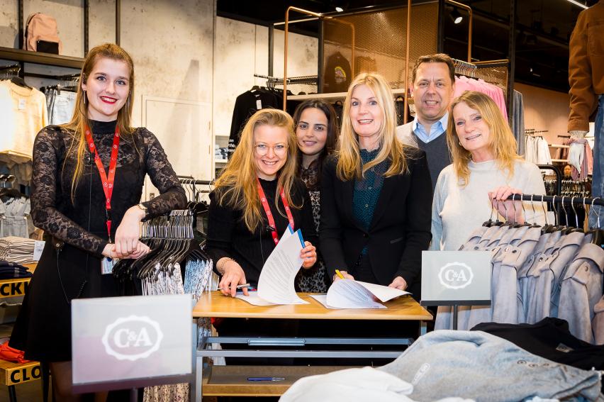 DZB en C&A Leiden slaan handen ineen voor werkzoekenden
